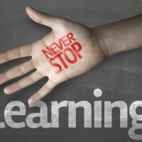 Don't stop learning