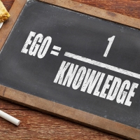 Knowledge = 1/Ego